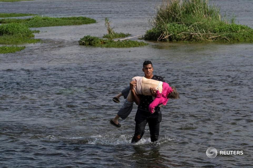 rio Bravo Texas EEUU abuela verio Bravo Texas EEUU abuela venezolana Reutersnezolana Reuters