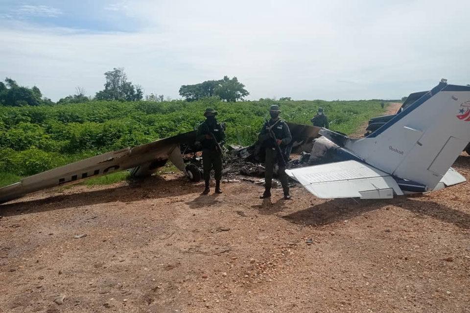 Encuentran pista clandestina y avión neutralizado en Zulia