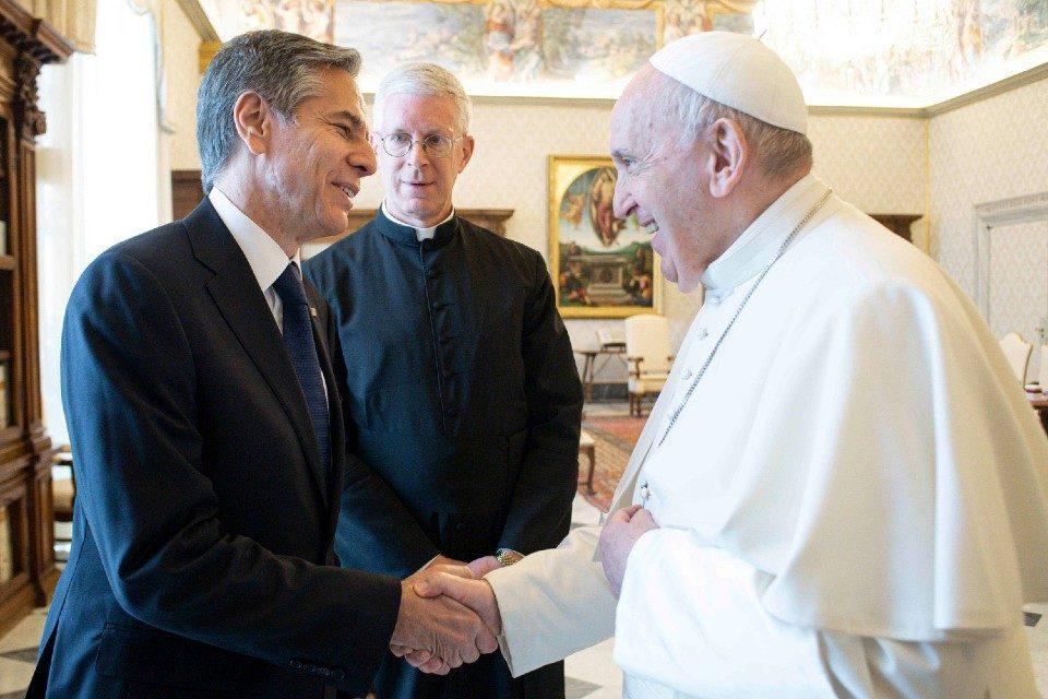 Anthony Blinken EEUU papa Francisco Venezuela