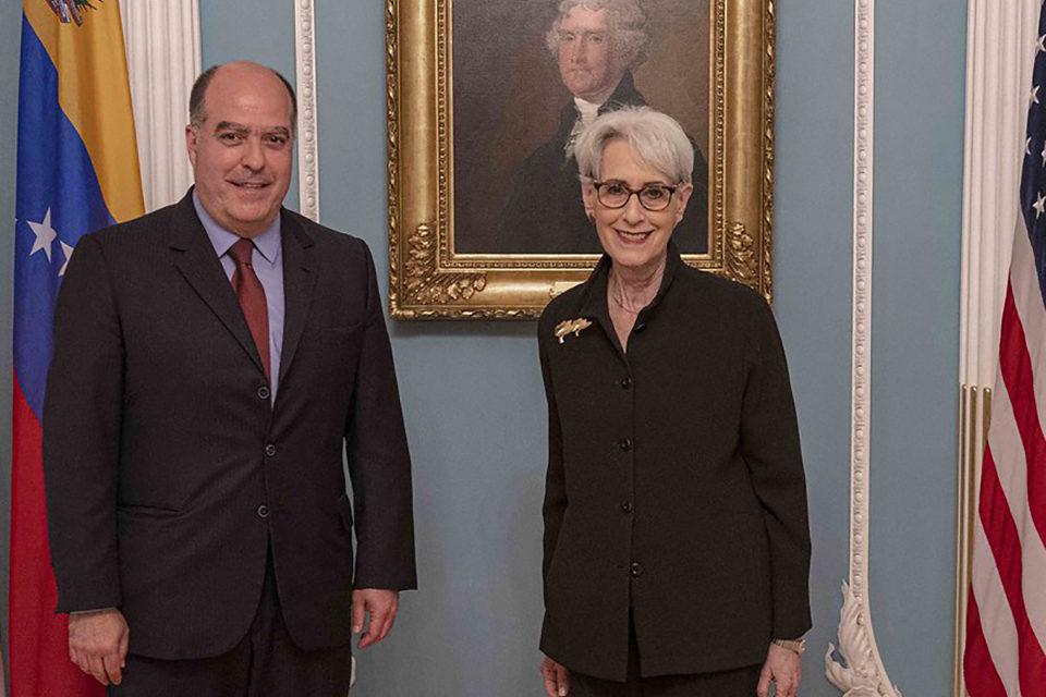 Subsecretaria de Estado de Biden recibe a Julio Borges en Washington