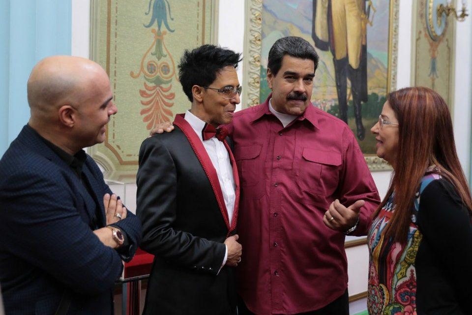 Bonny Cepeda Nicolás Maduro