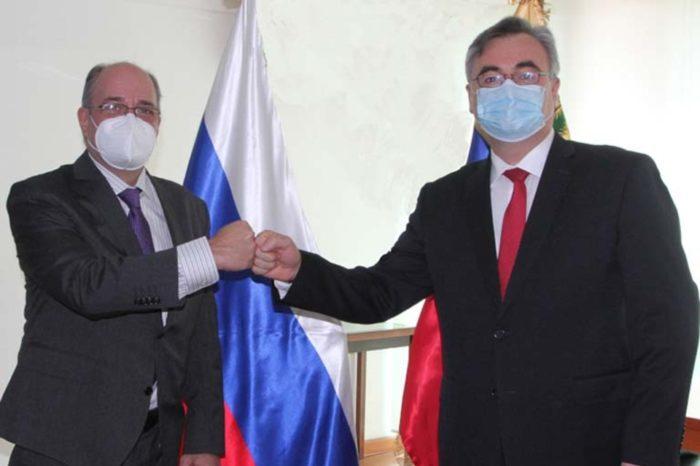 Calzadilla CNE embajador Rusia elecciones