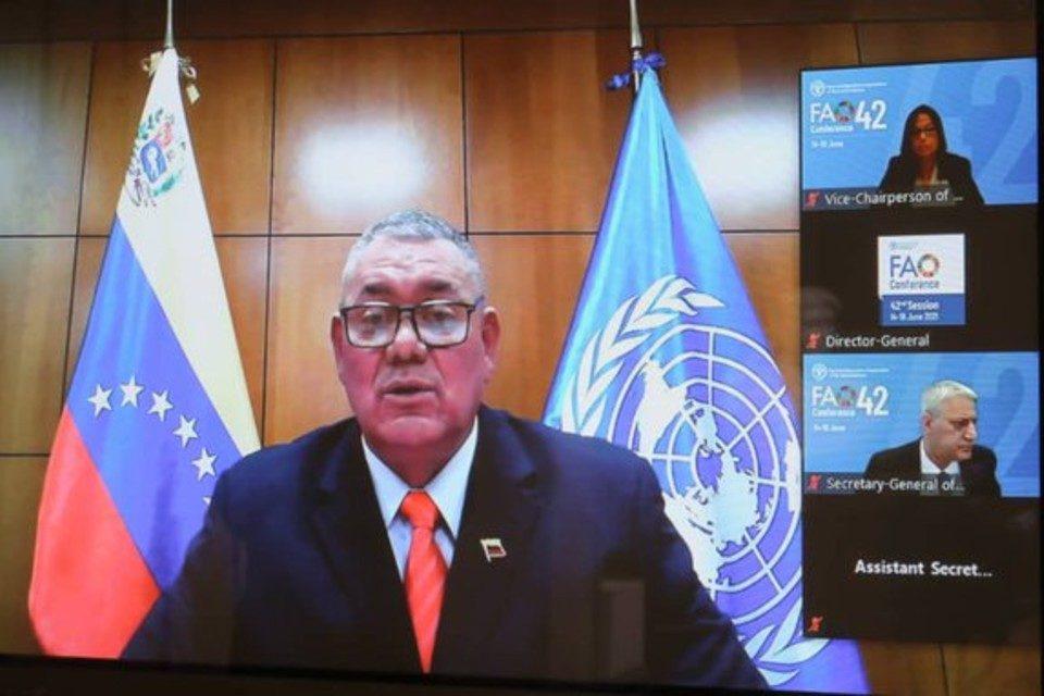 Carlos Leal tellería FAO Maduro EEUU