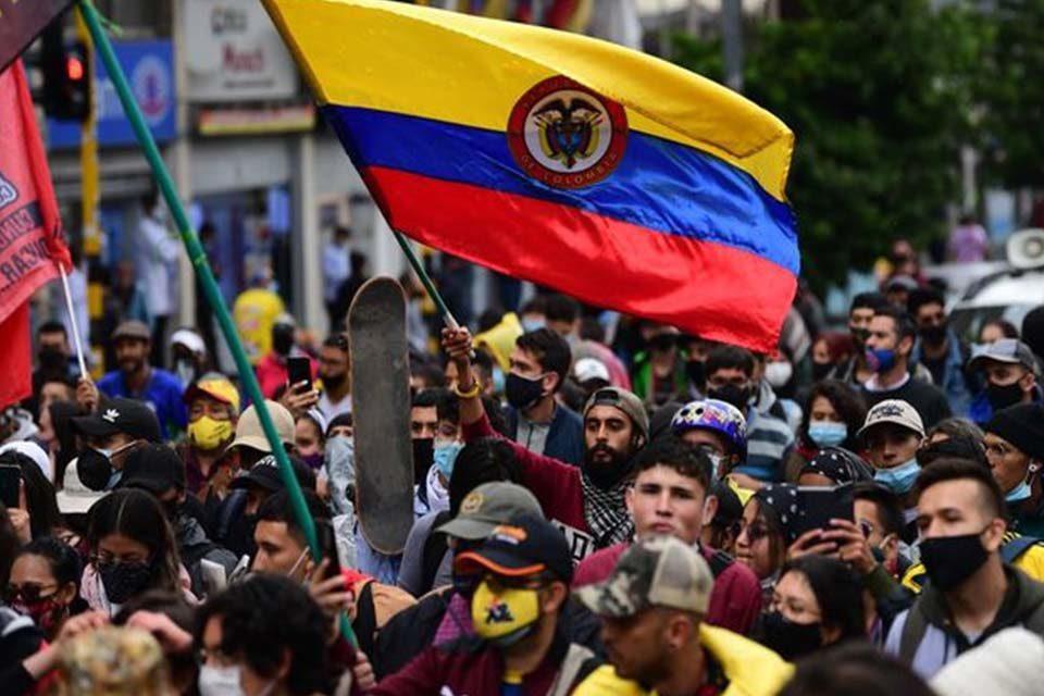 Siguen las protestas en Colombia