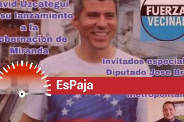 David Uzcategui EsPaja elecciones José Brito