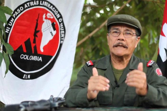 """Alias """"Gabino"""" anunció su renuncia a la comandancia ELN"""