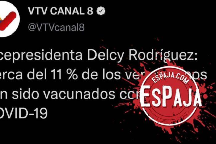 EsPaja vacunacion Delcy Rodriguez