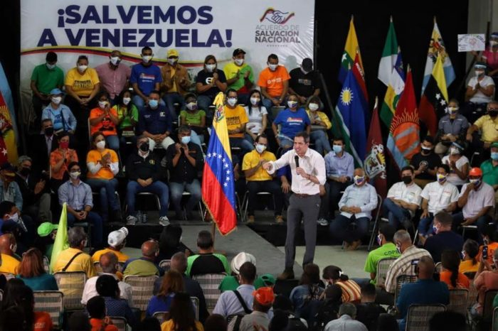 Juan Guaidó acuerdo negociación