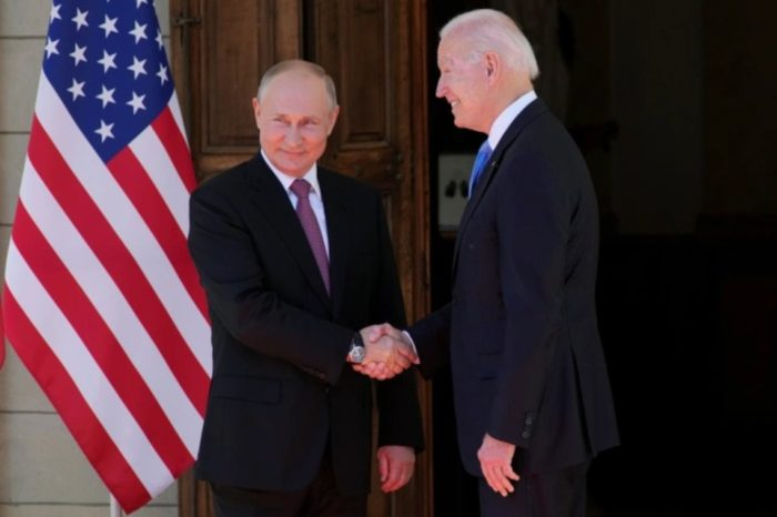 Joe Biden Vladimir Putin EEUU Ruisia Suiza cumbre