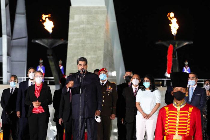 Nicolás Maduro, discurso sobre el Bicentenario de la Batalla de Carabobo