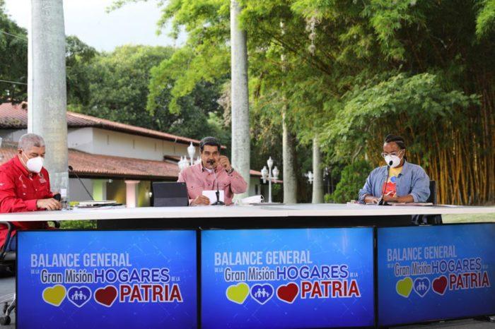 Nicolás Maduro habla del sistema de justicia