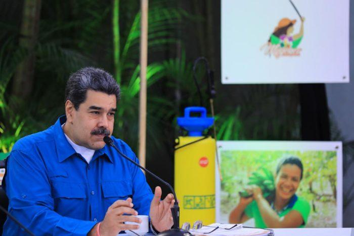 Maduro insiste con la agricultura urbana