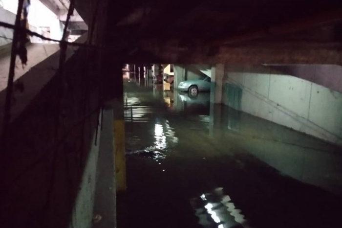 Inundado Parque Central