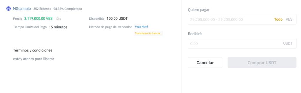 Invertir en criptomonedas en Venezuela por Binance