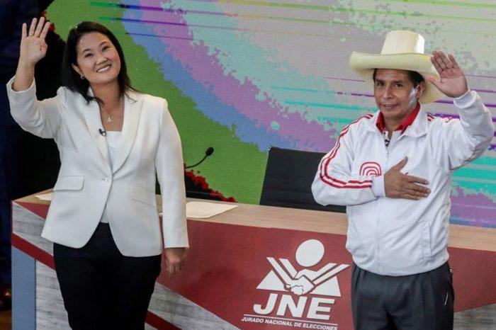 Sondeo a boca de urna da victoria a Fujimori en Perú
