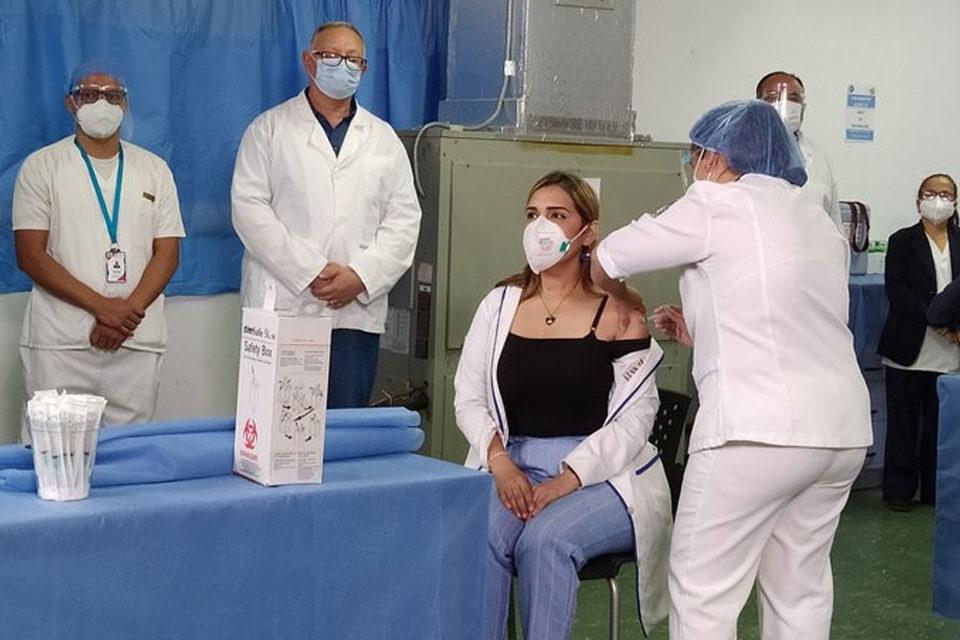 Proceso de Vacunación anticovid en Venezuela