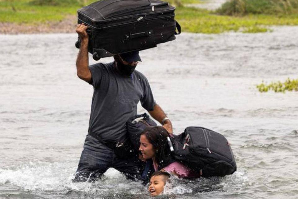 Venezolanos hacia EEUU