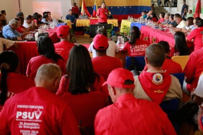 interno Unidad y liderazgo PSUV