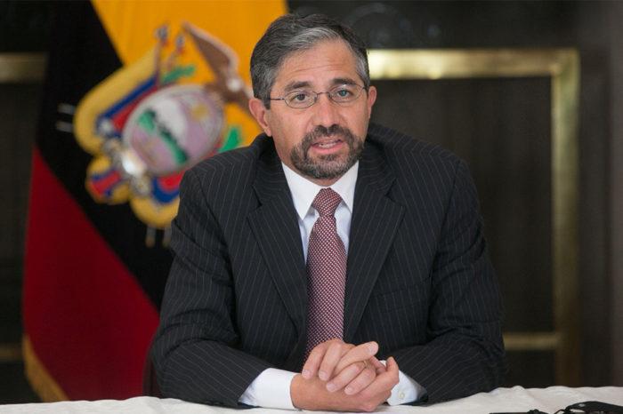 Mauricio Montalvo - canciller - ecuador