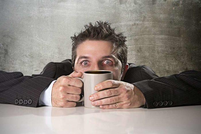 Estás tomando mucho café cuando…