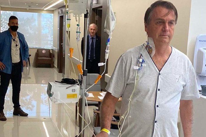 Bolsonaro en hospital