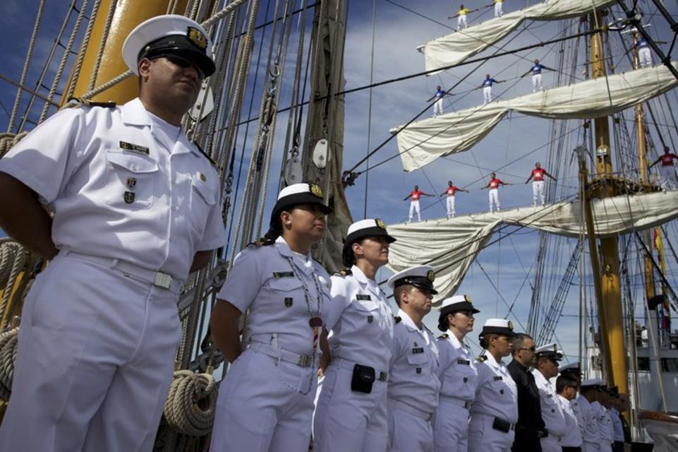 Día de la Armada FAN Nicolás Maduro Buque Escuela