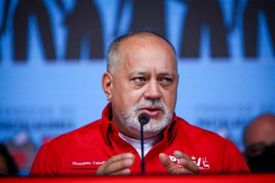 Diosdado Cabello primarias PSUV