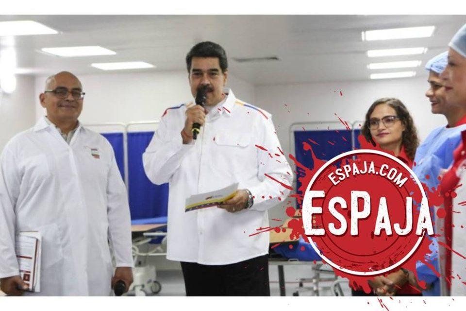 EsPaja sistema de salud Maduro
