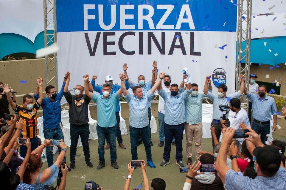 Fuerza Vecinal alcaldes MUD