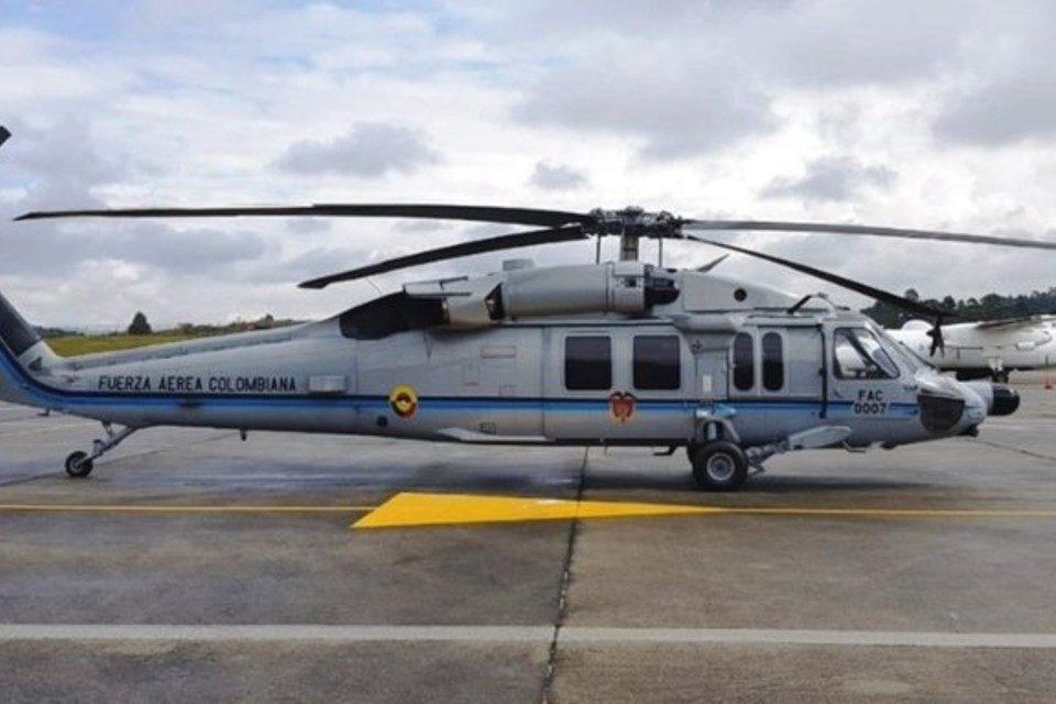 Helicoptero Fuerza Aerea Colombia Duque