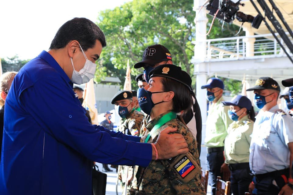 Ascensos policiales, Nicolás Maduro
