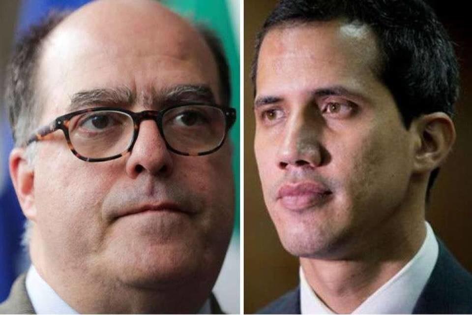 Guaidó y Borges