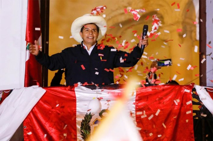 Pedro Castillo es proclamado presidente de Perú