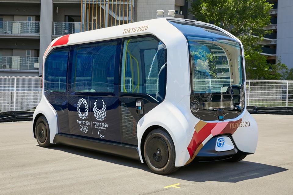 Vehículos autónomos de Tokio 2020