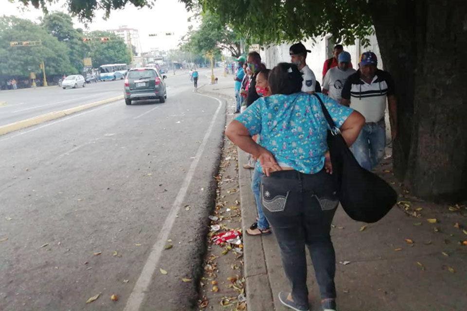 En Uraca y Vargas el transporte público es una calamidad