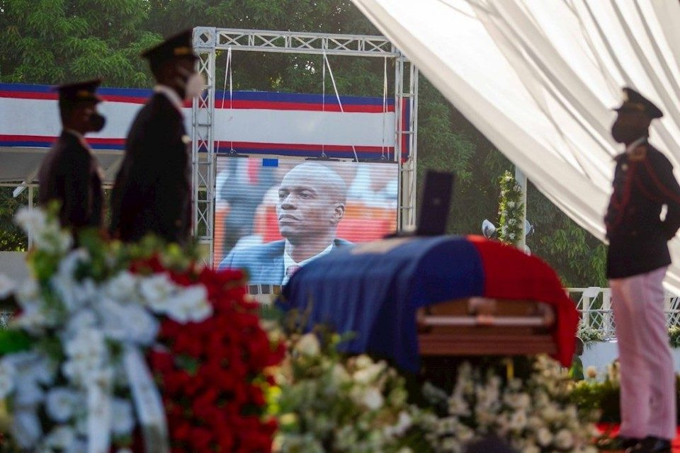 funeral-jovenel moise-EFE-Haiti