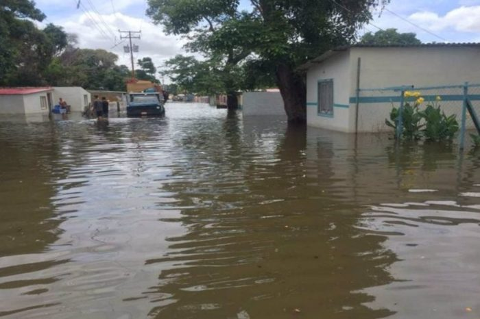 Bolívar inundaciones municipio Caroní 18.08.2021