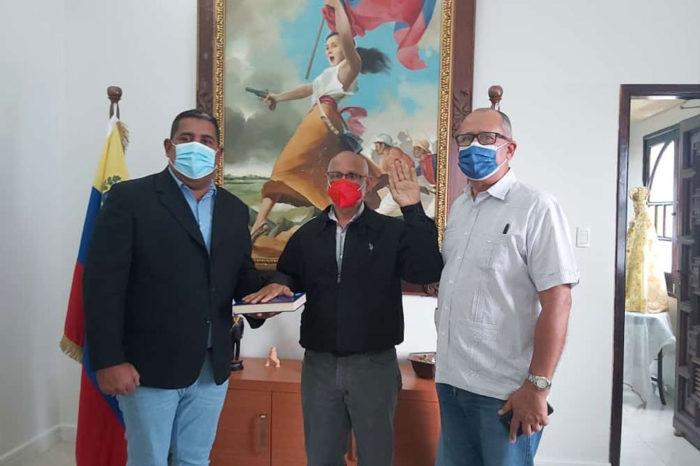Cosme Arzolay es juramentado como gobernador encargado de Monagas