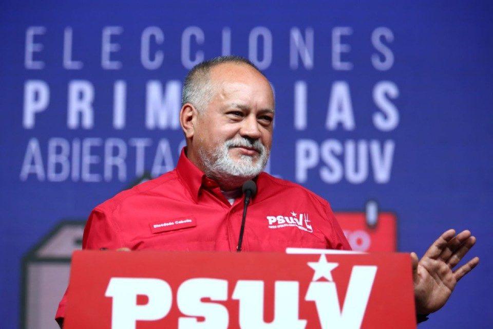 Diosdado Cabello PSUV