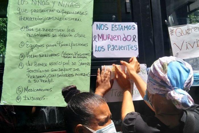 Protesta en el JM de los Ríos