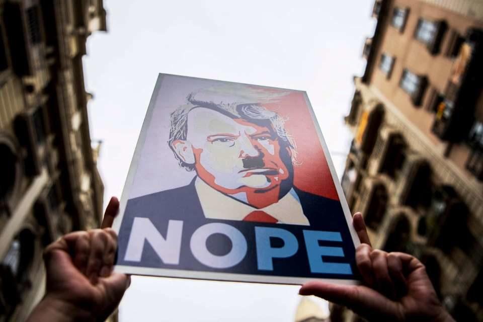 Trumpdifuminóla línea entre fascismoypopulismo,