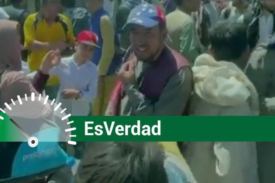 EsPaja gorra tricolor afganistan