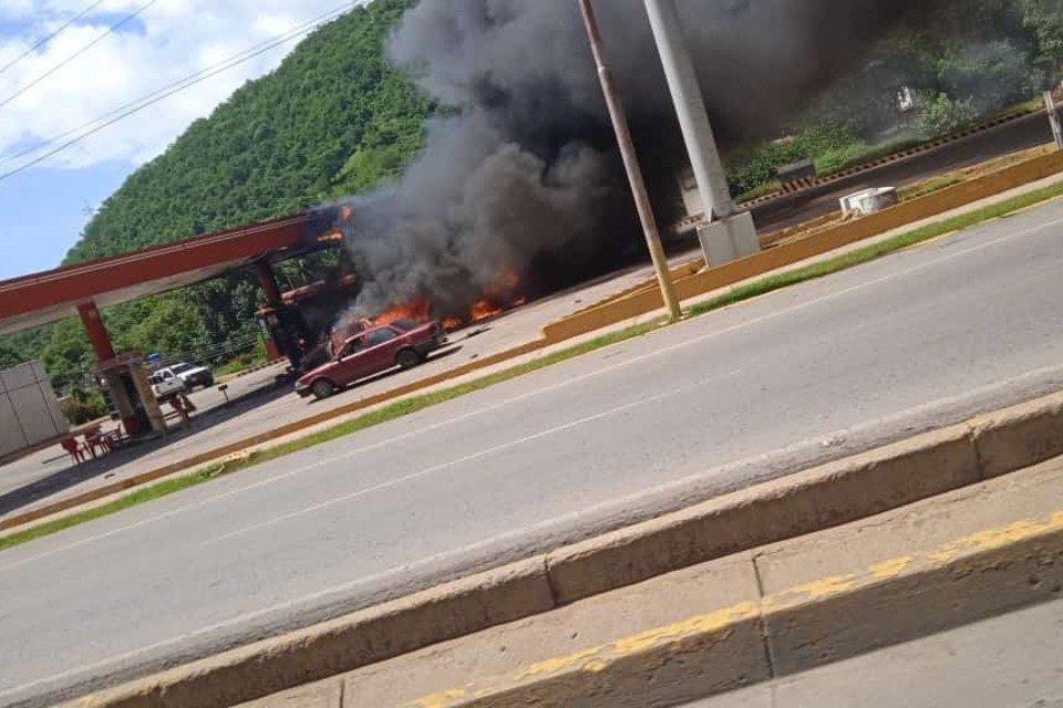 Explosion Anzoátegui gasolina gas