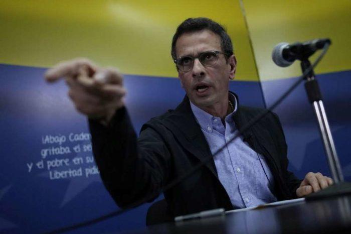 El derecho a aspirar Capriles