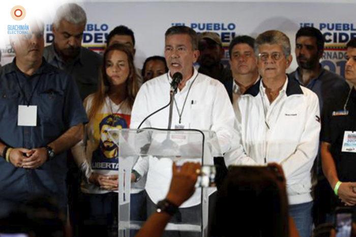 Guachimán oposición unida