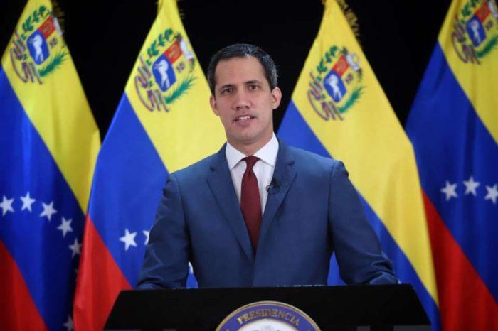 Gobierno interino de Juan Guaidó, sanciones y negociación Colombia