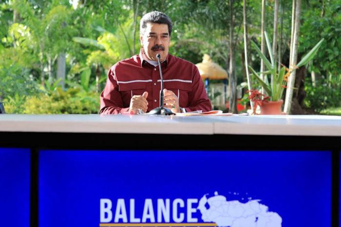 Nicolás Maduro ofrece balance de covid-19 en la semana