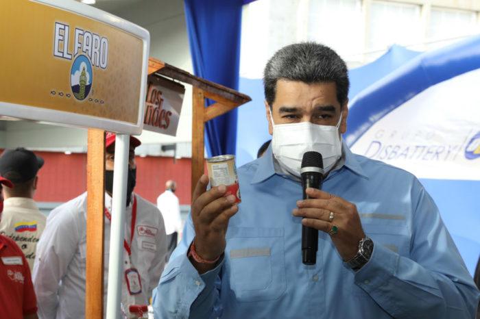 Maduro insta a empresarios a exigir devolución de Monómeros a Pdvsa
