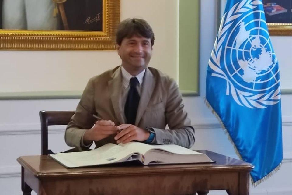 Nuevo coordinador residente de la ONU, Gianluca Rampolla