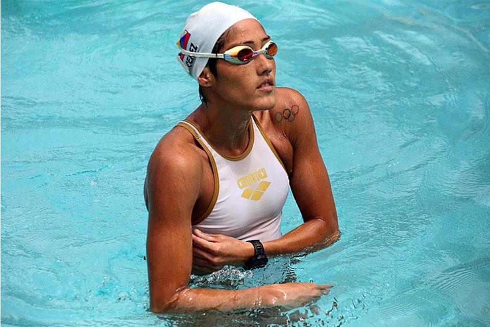 nadadora Paola Pérez